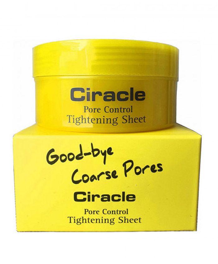 Ciracle Pore Control Tightening Sheet Məsamələri Daraldan Salfetlər 40 əd.
