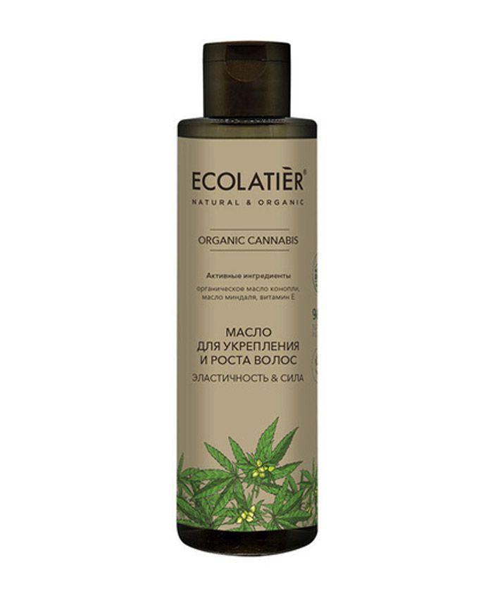 """Ecolatier Organic Cannabis Saç Yağı """"Elastiklik və Güc"""""""