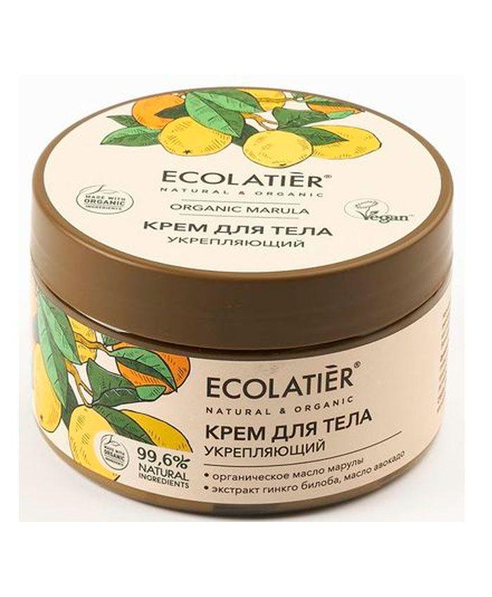 Ecolatier Organic Marula Крем для Тела Укрепляющий