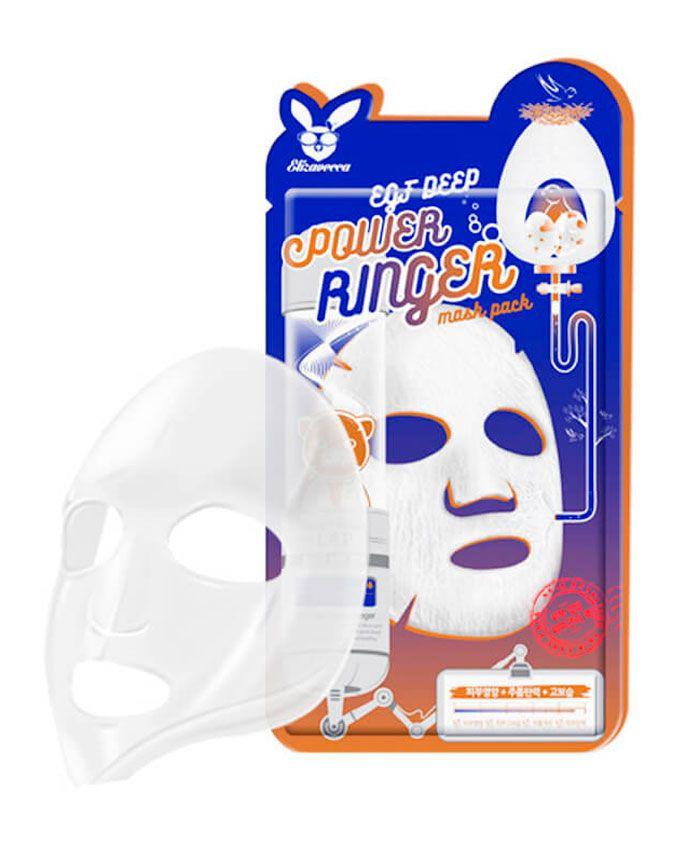 Elizavecca EGF Deep Power Ringer Mask Pack Тканевая Маска для Лица Антивозрастная