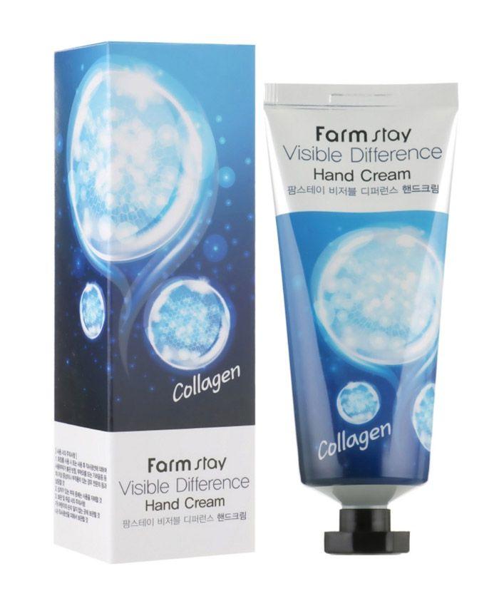 FarmStay Visible Difference Collagen Hand Cream Крем для Рук с Коллагеном