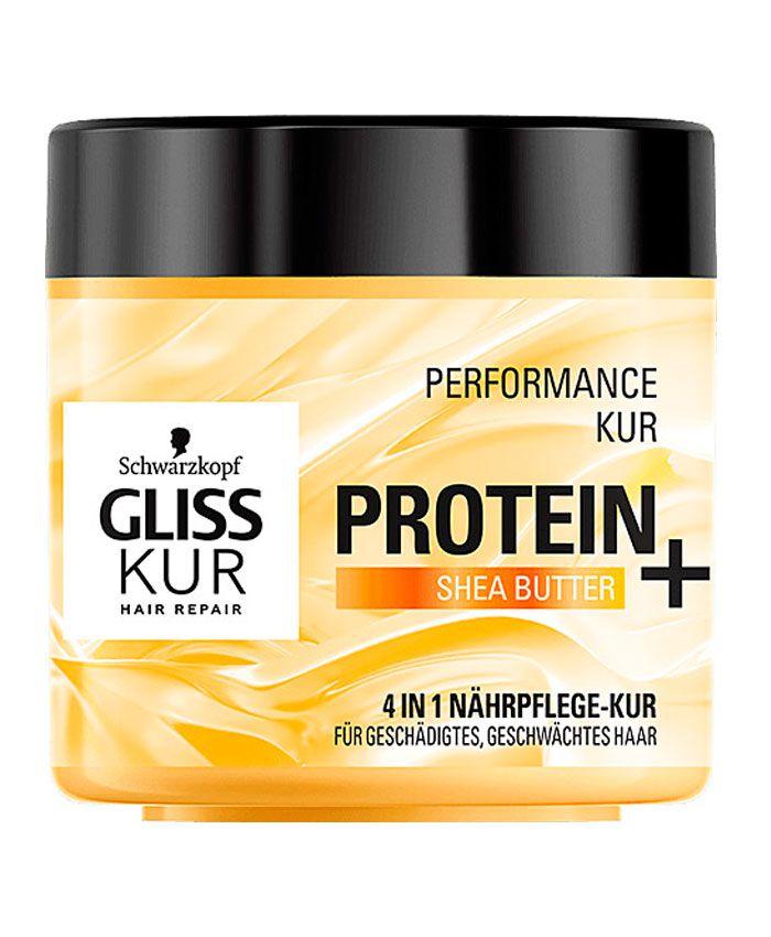 Schwarzkopf Gliss Kur Маска для Поврежденных и Ослабленных Волос с Протеинами и Маслом Ши