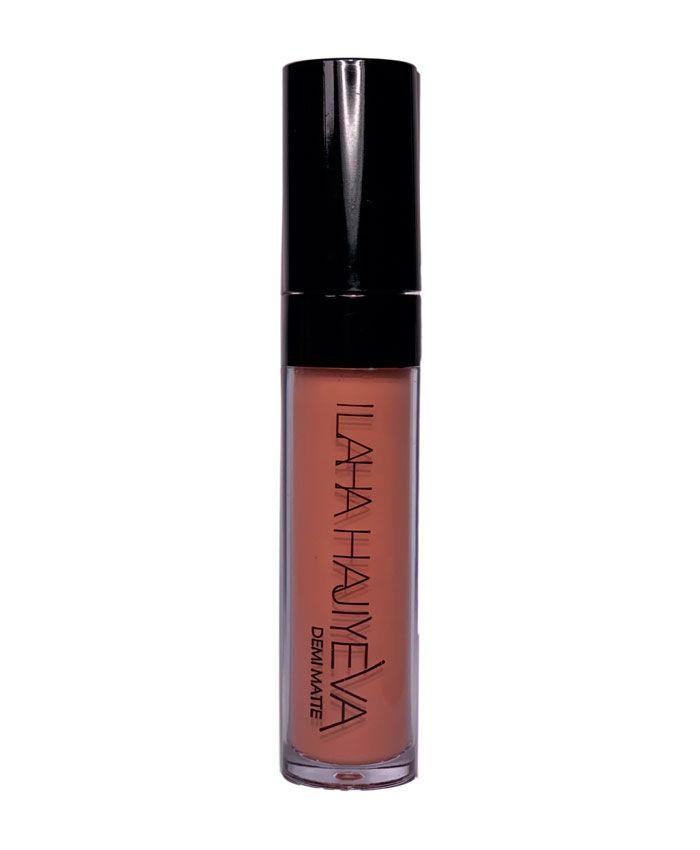 Ilaha Hajiyeva Demi-Matte Liquid Lipstick Yarı Mat Dodaq Boyası 1