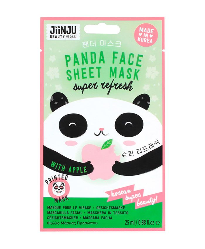 Jiinju Panda Sheet Mask Тканевая Маска для Лица Освежающая