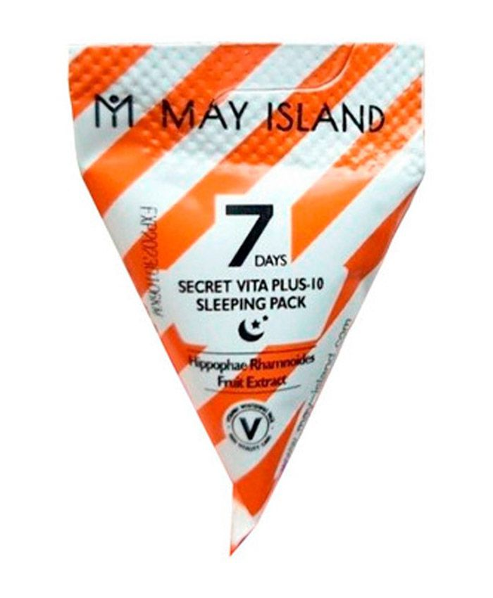 May Island 7 Days Secret Vita Plus-10 Sleeping Pack Üz üçün Gecə Vitaminli Maska