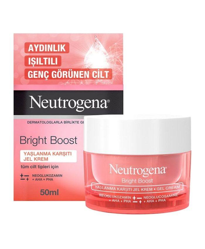 Neutrogena Bright Boost Cavanlaşdırıcı Gel-Krem
