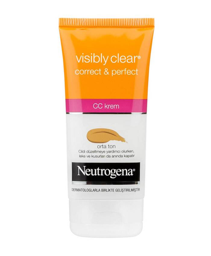 Neutrogena Visibly Clear Üz üçün CC Krem Medium