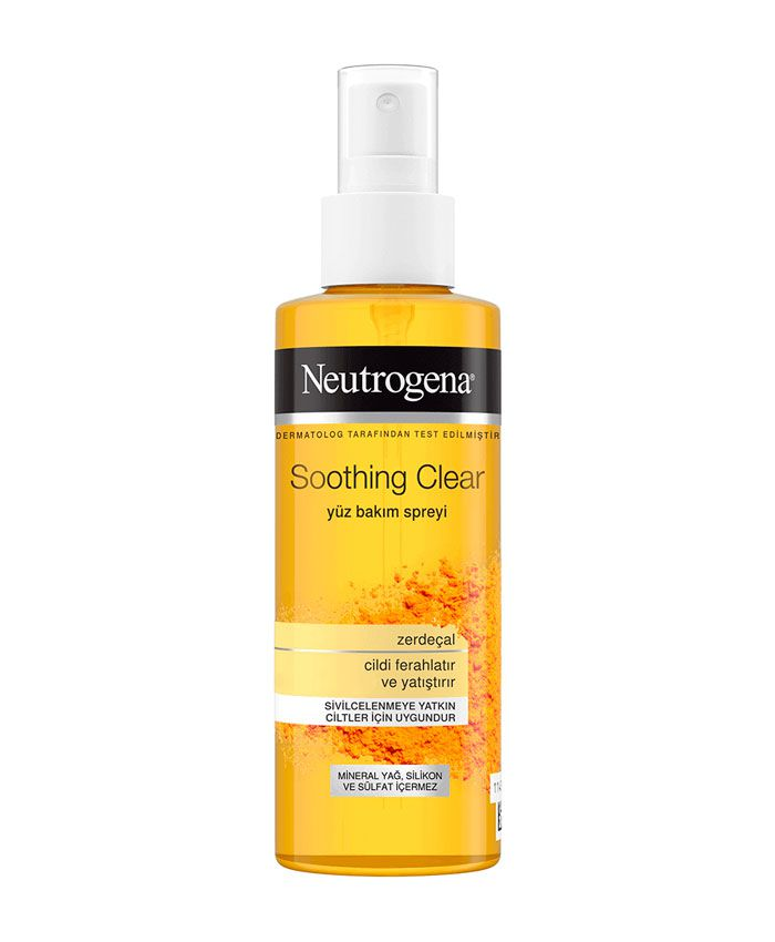 Neutrogena Soothing Clear Увлажняющий Спрей-Тоник для Лица