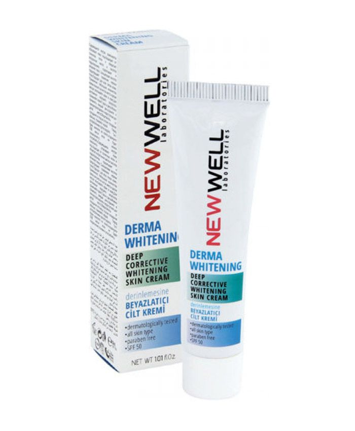 New Well Derma Whitening Крем для Кожи Отбеливающий