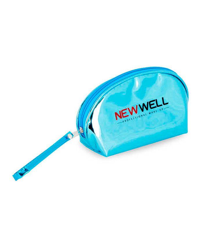 New Well Косметичка Овальная Голубая