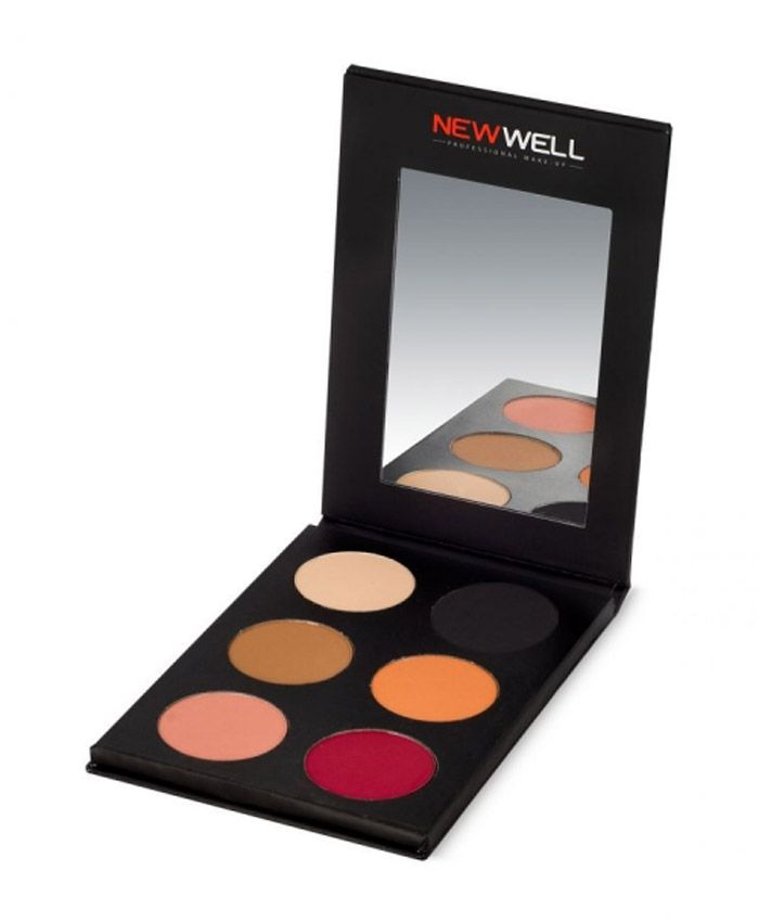 New Well Matte Eyeshadow Палетка Теней 52