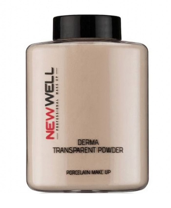 New Well Derma Transparent Powder Üz üçün Transparant Kirşan 02