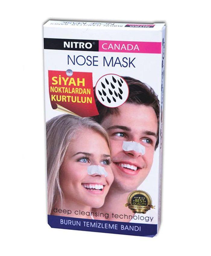 Nitro Canada Полоски для Носа против Черных Точек