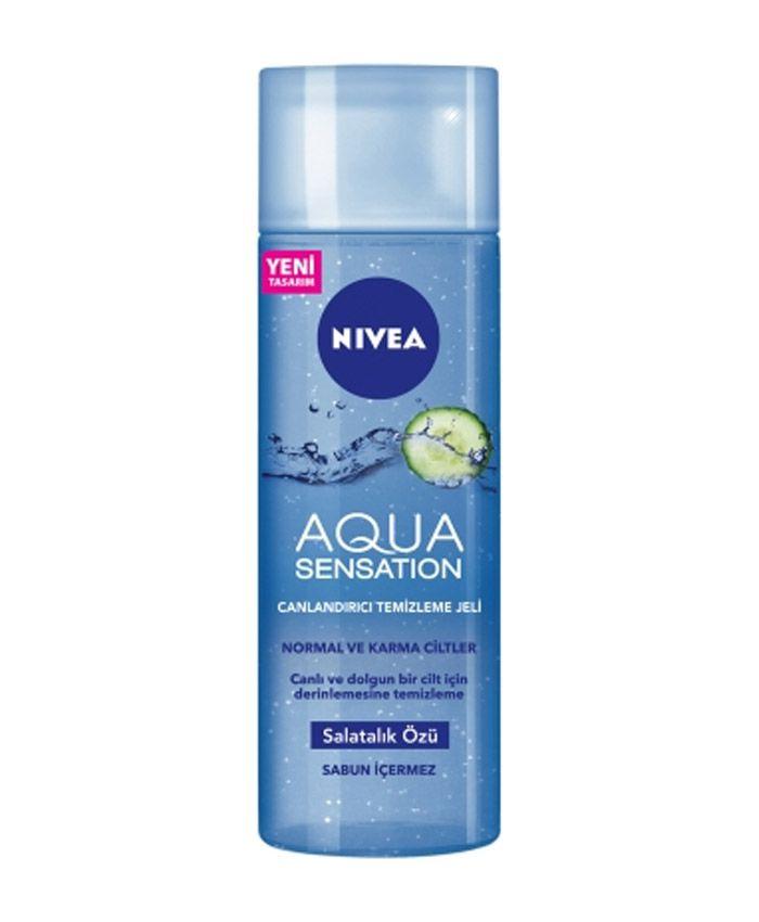 Nivea Aqua Sensation гель для очищения кожи