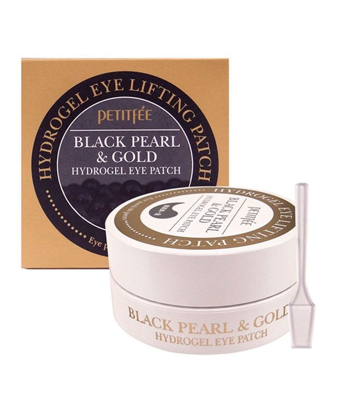 Petitfee Black Pearl & Gold Hydrogel Eye Patch Гидрогелевые Патчи для Глаз