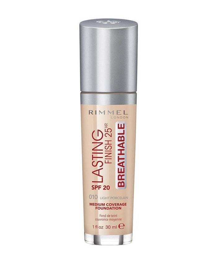 Rimmel Lasting Finish 25hr Breathable Тональный Крем 010