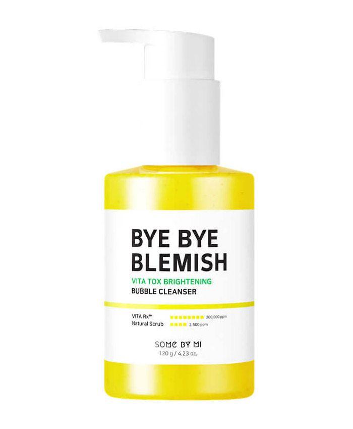 Some By Mi Bye Bye Blemish Vita Tox Brightening Bubble Cleanser Осветляющее кислородное средство