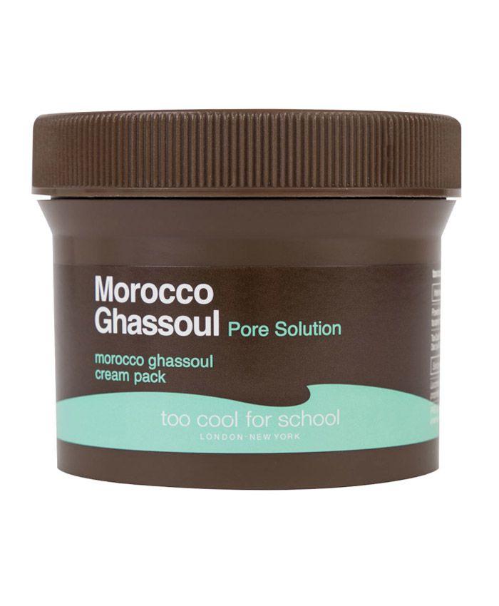 Too Cool for School Morocco Ghassoul Pore Solution Cream Pack Məsamələri Daraldan Krem-Maska