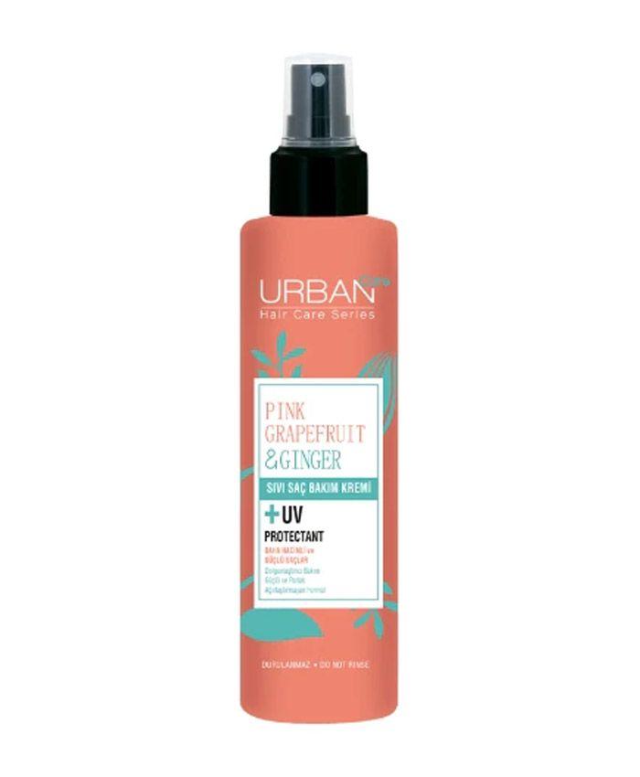 Urban Care Pink Grapefruit & Ginger Спрей для Тонких и Слабых Волос с Грейпфрутом и Имбирем