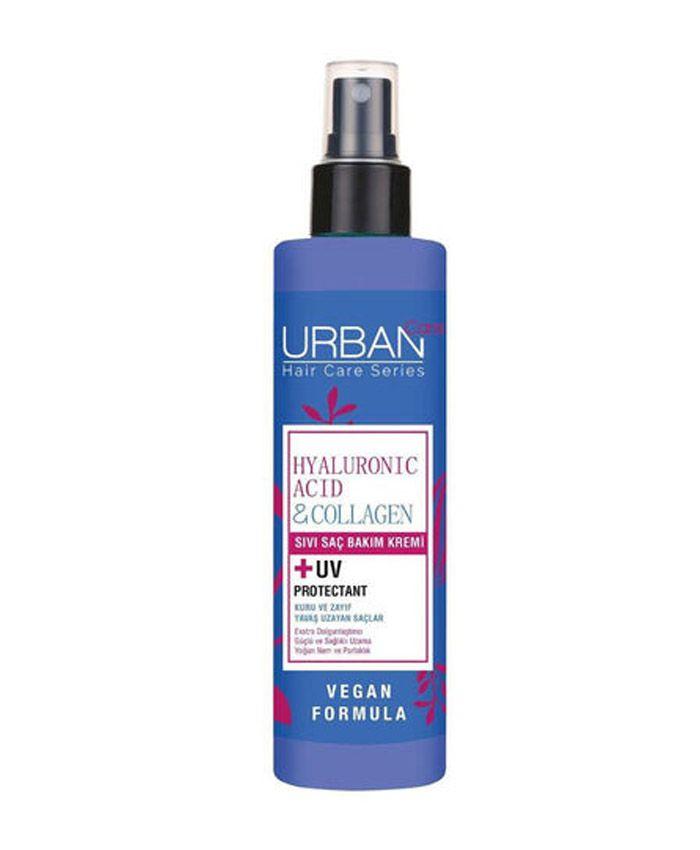 Urban Care Hyaluronic Acid & Collagen Несмываемый Кондиционер для Сухих и Ослабленных Волос