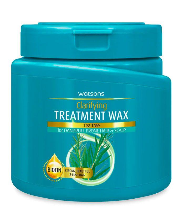 Watsons Treatment Wax Маска для Волос с Маслом Чайного Дерева