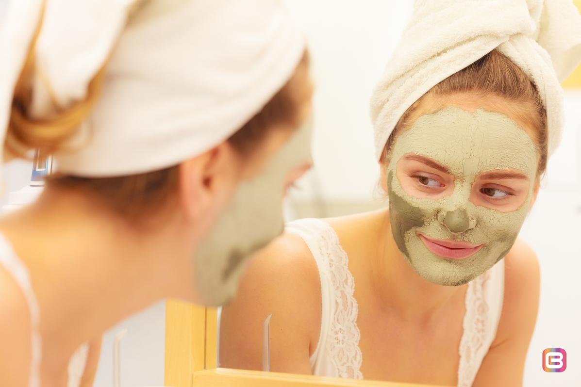 Используйте маски из глины