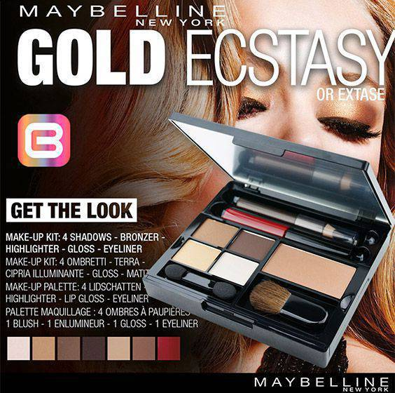 Maybelline Gold Rush Ecstasy Dəsti