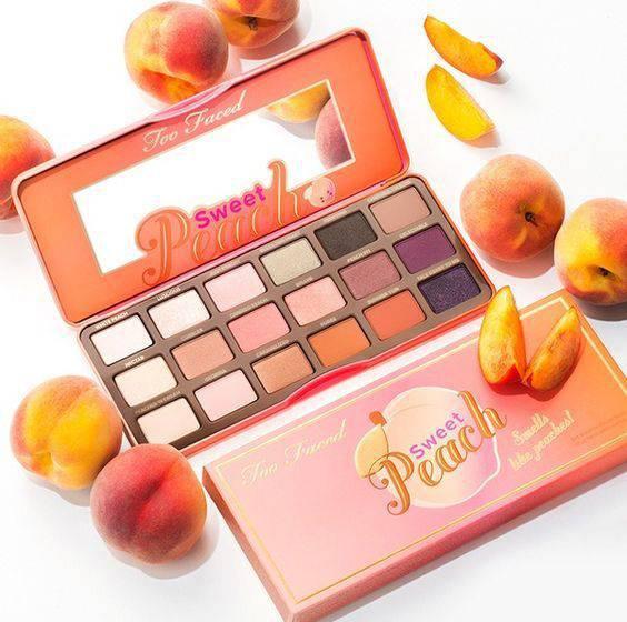 Палетка теней Sweet Peach от Too Faced